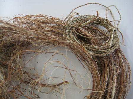 ちょまの繊維と糸