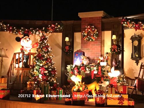 2017年12月 東京ディズニーランドのクリスマス