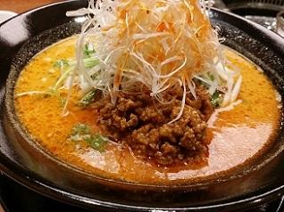 中津留 坦々麺