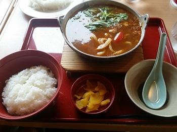JOYFUL カレー鍋定食