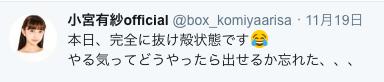 【ラブライブ!】一大ライブを終えた現在の小宮有紗さんを見てみたい