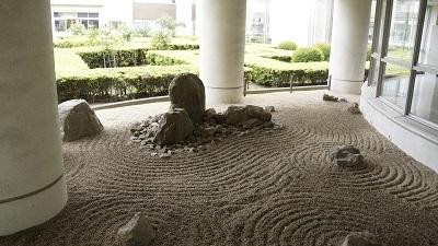 鳩ヶ谷高校 石庭
