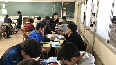 熊谷高校公開授業04