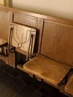 大阪市中央公会堂の旧座席1710