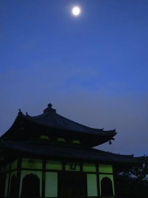 妙心寺の月1712
