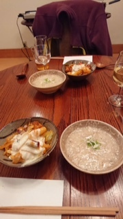 今回は韓国料理でした