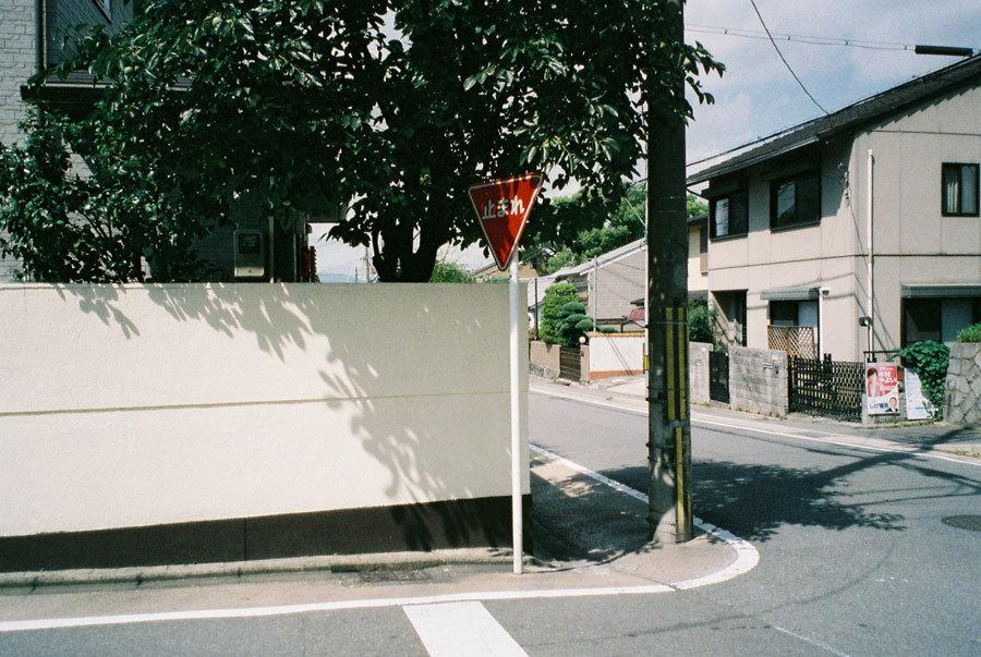小寺医院への道