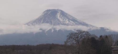 富士山 2018年1月5日