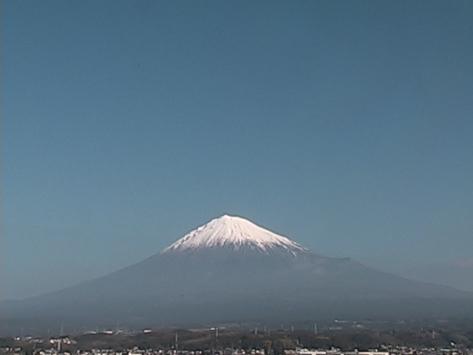 2017年1月4日富士山