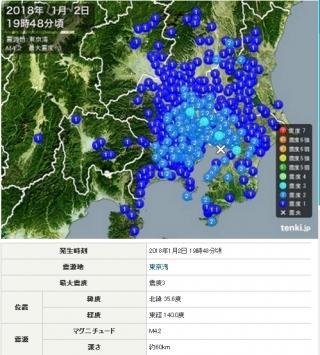 東京湾地震