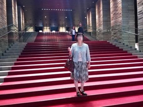 1 フェスティバルホール・階段