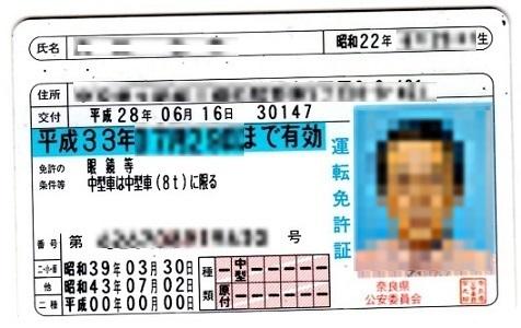 3 免許証・臓器提供