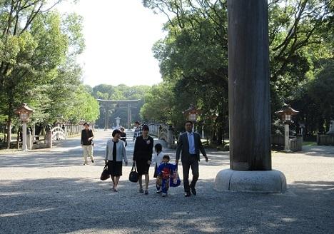 1 橿原神宮へ七五三
