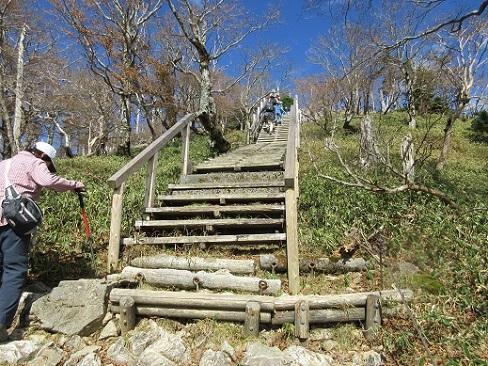 7 日出ヶ岳への登山