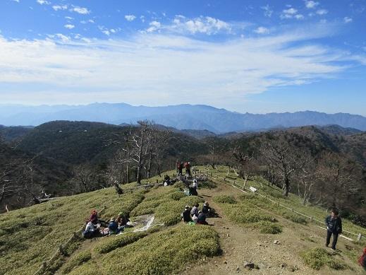 9 大峰山系の展望