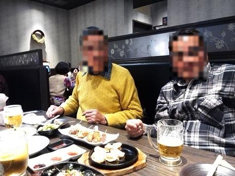 1 元パート勤務仲間の忘年会