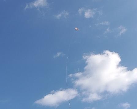 2 凧揚げ
