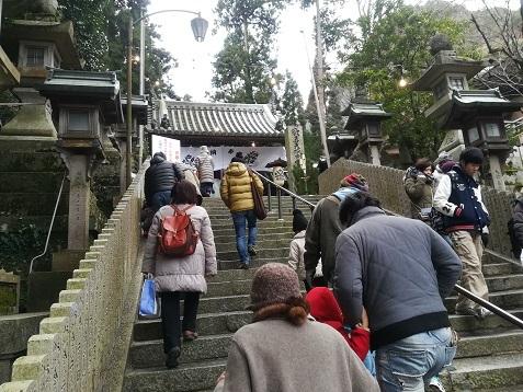 6 宝山寺(生駒聖天)へ