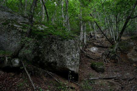 『07_201708121357登山道の巨岩』