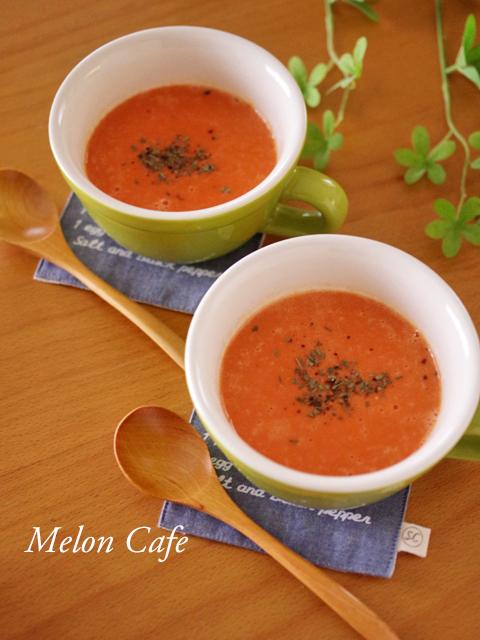 野菜ジュースで超簡単お手軽スープ
