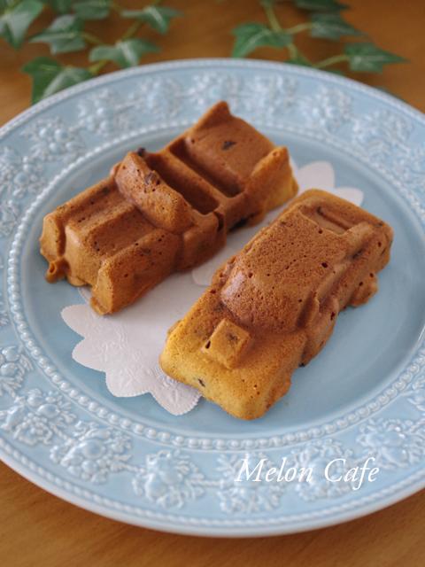 ホットケーキミックスで超簡単バターなしチョコチップケーキ