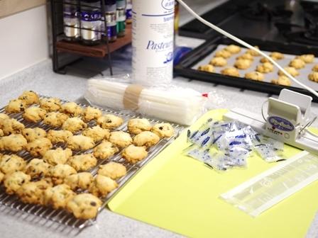 おうちで簡単大量生産チョコとクルミのさくさくクッキー04