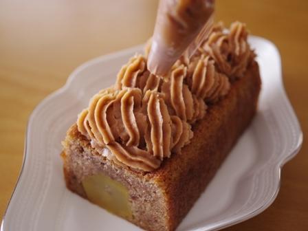 ホットケーキミックスでしっとりふんわり栗ケーキ01