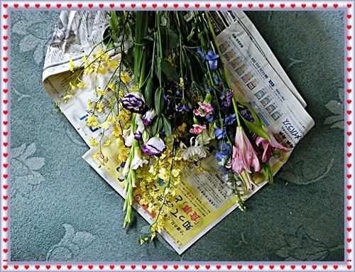 CIMG9896供花をもらって供えた