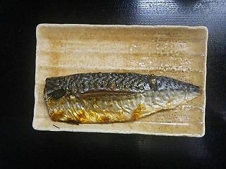 320-鯖の塩焼き