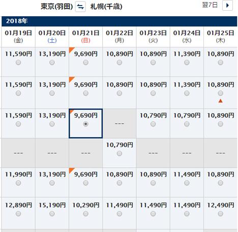 ANAは、北海道行きの便を対象に、「旅割Xタイムセール」を開催、羽田~札幌線が9,690円~!