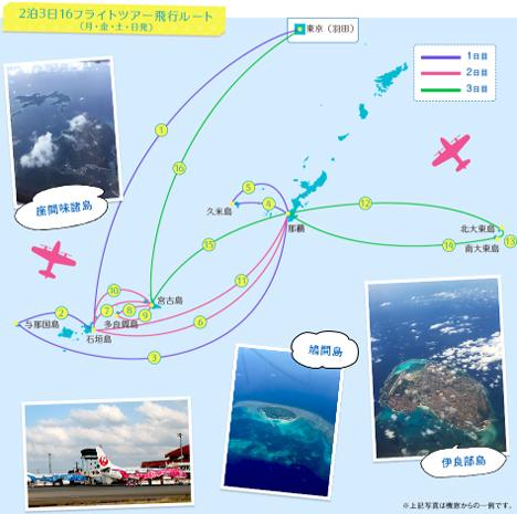 JALは、沖縄の離島を最大16回飛び回るツアーを販売、これってマイル修行向けの商品?2のコピー