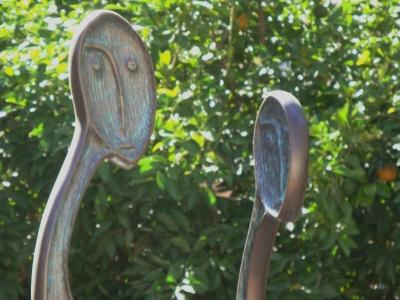 魂 彫刻 銅像