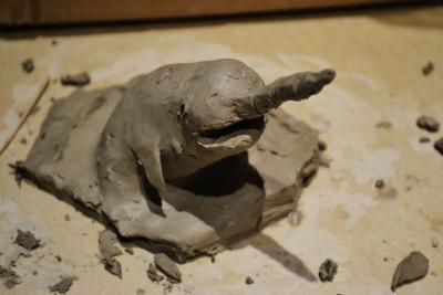 形作る 粘土