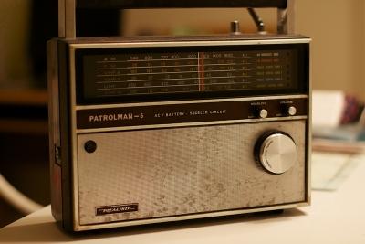 古いラジオ