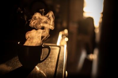冬の日 コーヒー