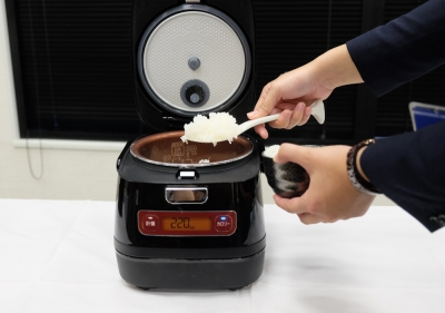 アイリスオーヤマ 炊飯器 カロリー測定