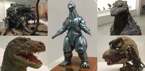 ビオランテ、メカゴジラ、ゴジラザウルス、ゴジラヘッド