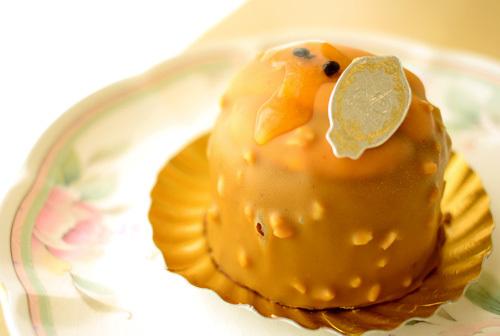 【ケーキ】エーグルドゥース「パッションドゥショコラ」 (1)