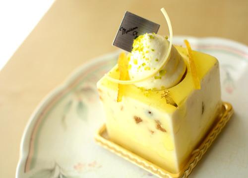 【ケーキ】メゾプティ「キューブプロヴァンサル」