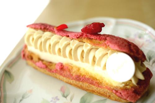【ケーキ】リョウラ「クレール ペッシュポワールキャラメル」