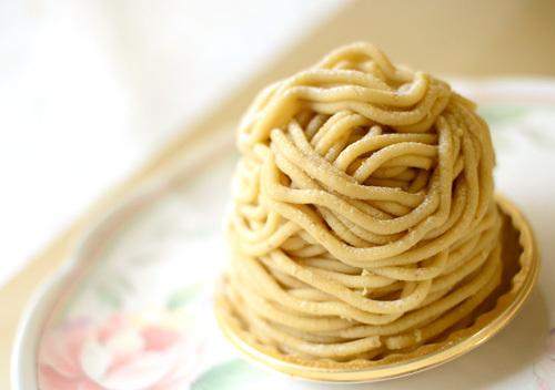 【ケーキ】ロタンティック「モンブラン」 (1)