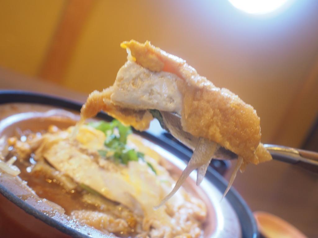 豆腐カツ煮リフト