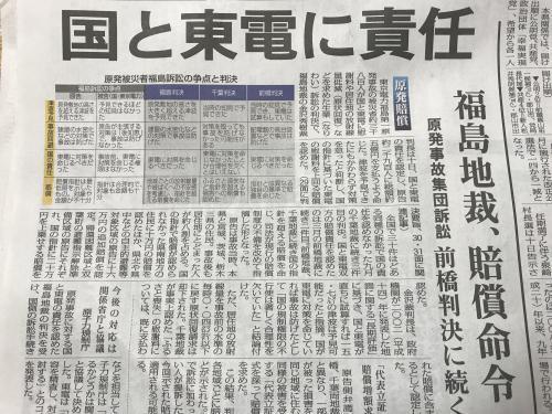 【原発訴訟(福島地裁)】・1