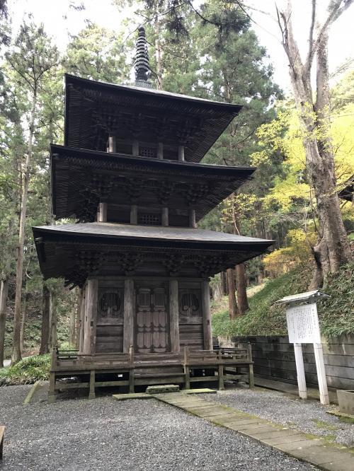 2017高蔵寺:三重塔・1