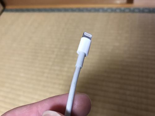 【100均のiPhoneケーブル保護パーツ】・3