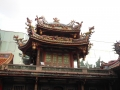 台北龍山寺楼閣
