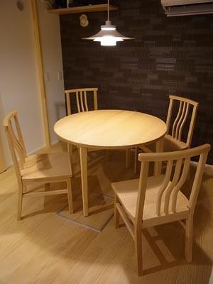 ラウンドテーブルセット
