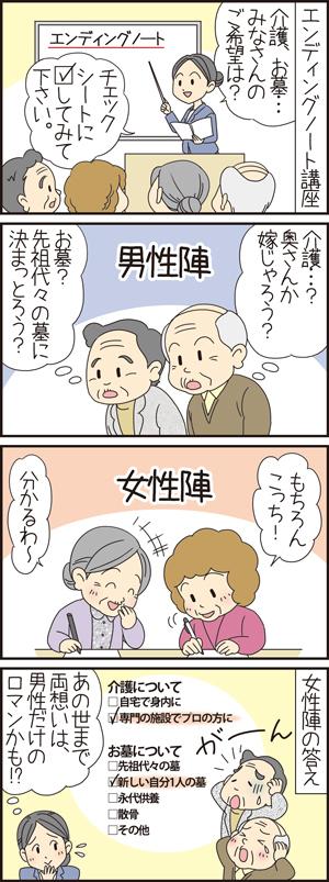 走れはしもとちゃん終活奮闘日記02