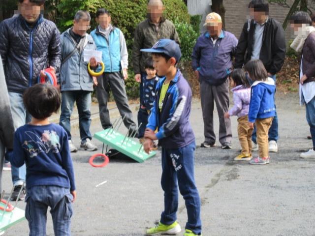 中清水区紅葉祭(輪投げ大会)