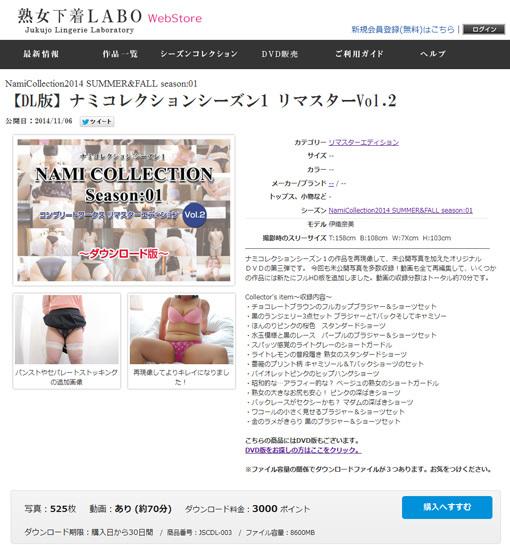 【DL版】ナミコレクション1 リマスターVol.1